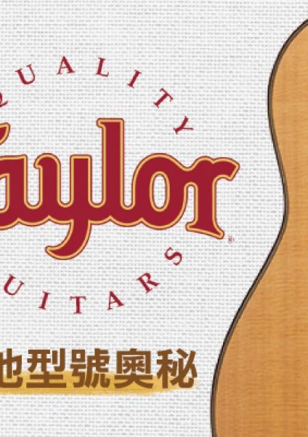 破解Taylor吉他型號的奧秘